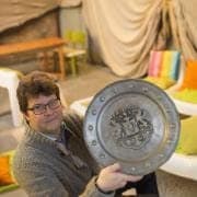 Jeneverbaron Gert Jordens uit Kuringen - foto: Filip Claessens